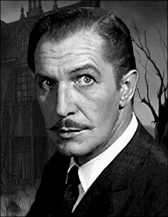 One of the three giants of classic thriller cinema, Vincent Price, who was in real life quite a nice fellow by all accounts.