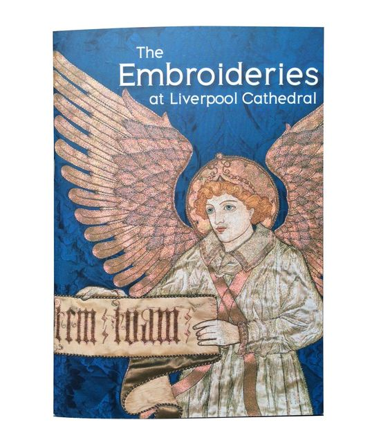 From Watts & Co, Westminster, England  http://www.wattsandco.com/church-supplies/gifts/embroideries-liverpool-cathedral-book.html