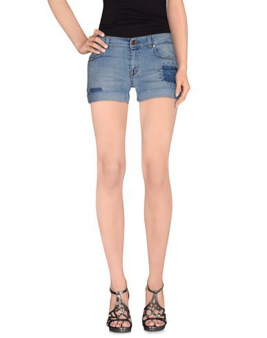 PIERRE BALMAIN Denim shorts. #pierrebalmain #cloth #dress #top #skirt #pant #coat #jacket #jecket #beachwear #