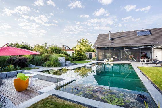 Schwimmteich Selber Bauen: 13 Märchenhafte Gestaltungsideen | Swimming Pool  Pond And Natural Swimming Pools