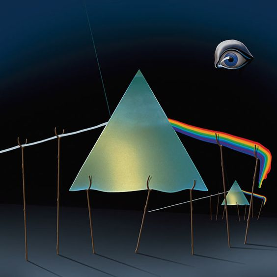 Dali Thorgerson | The Dark Side of the Moon