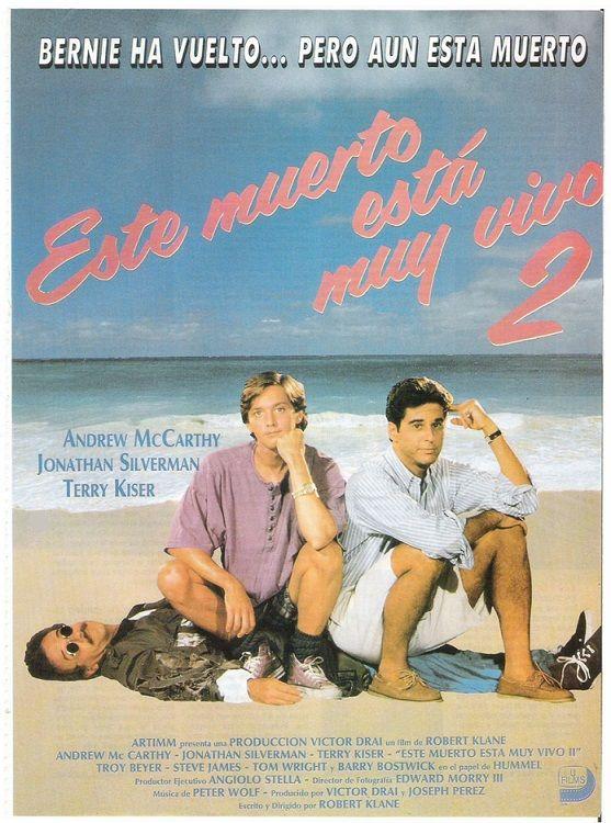 Este Muerto Esta Muy Vivo 2 1993 Weekend At Bernie S Ii De Robert Klane Tt0108539 Carteles De Cine Cine Peliculas