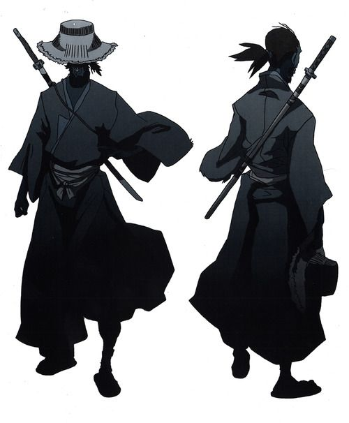 The Blind-black-Samurai from Huey's dream sequence from The Boondocks season 1