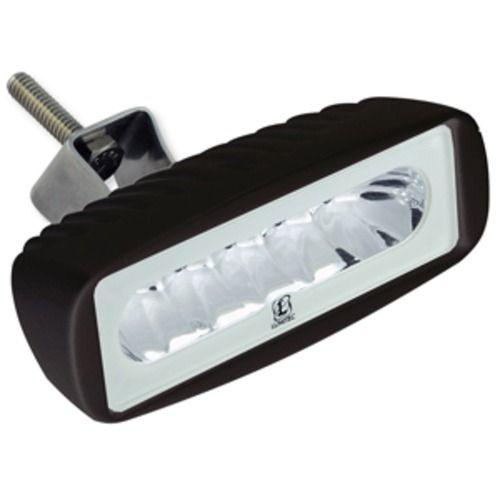 Lumitec Caprera2 - LED Flood Light - Black Finish - Light White Dimming/Amber Flashing