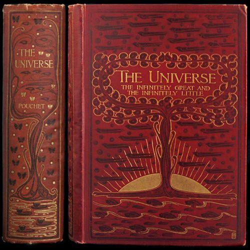 1902 RARE Talwin Morris Art Nouveau Fine Binding The Universe Pouchet Birds Fish | eBay