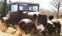 .Still in pretty great shape for its age. Though out in the elements, there looks to be little corrosion.