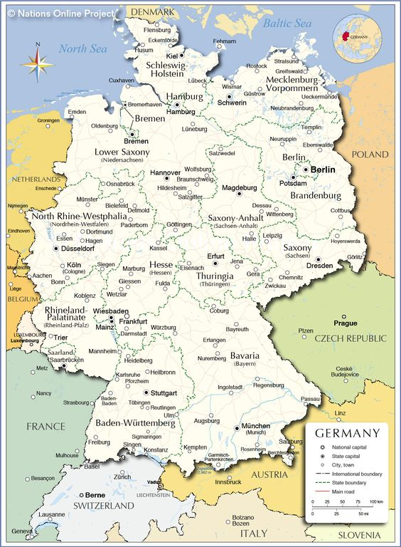 map of germany shows roads airports national capital major cities country boundaries etc country maps pinterest country maps city and travel