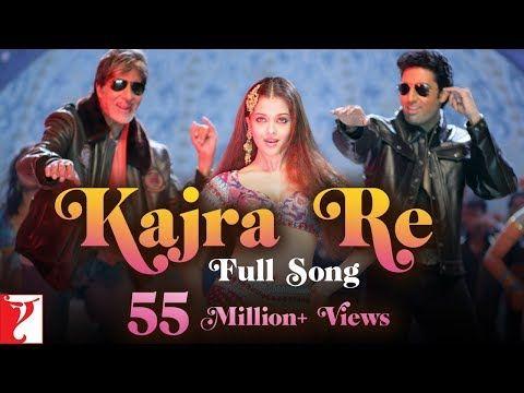 Kajra Re Full Song Bunty Aur Babli Amitabh Abhishek Aishwarya Shankar Ehsaan Loy Gulzar Youtube Songs Aishwarya Rai Mp3 Song Download