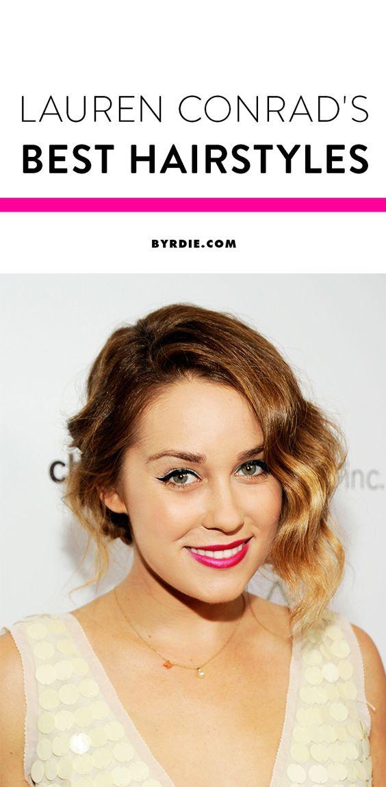 See Lauren Conrad's top 10 best hairstyles since 2005