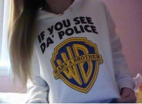 If you see the police…lmao