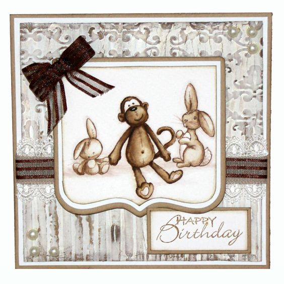 This is the Gorgeous new Toddlers & Toys set designed by Sharon Bennett for Hobby Art. Clear set contains 9 clear stamps as seen on Create & Craft. This Gorgeous Card was made by Sally Dodger: