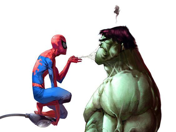 Free spiderman vs hulk Wallpaper - Download The Free ...