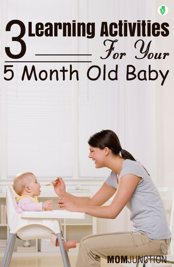 17 Fun And Interesting Activities For 5 Month Olds 5