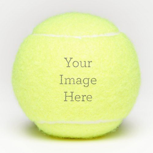 Create Your Own Tennis Ball Zazzle Com Tennis Balls Tennis Tennis Ball