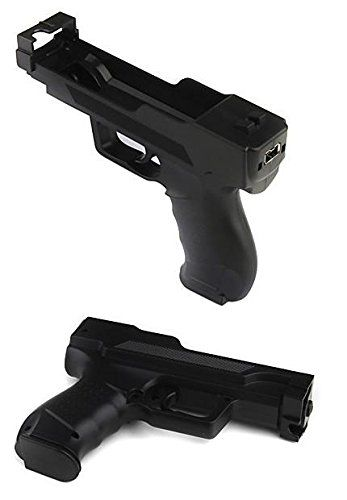 Bestsuply Wii Motion Plus Gun For Nintendo Wii (Black,Set Of 2), 2015 Amazon Top Rated Controllers #PersonalComputer