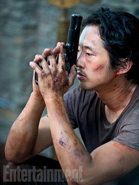 The Walking Dead prépare son retour en couverture d'Entertainment Weekly