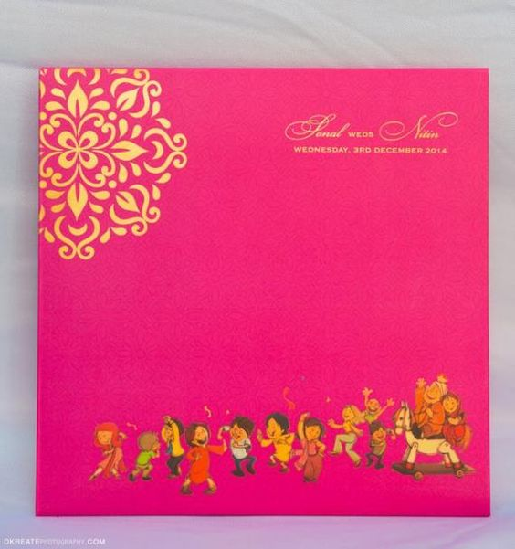 Free Online Indian Wedding Invitation Website: Bridal Lehenga, Wedding Card Design And Pink Wedding