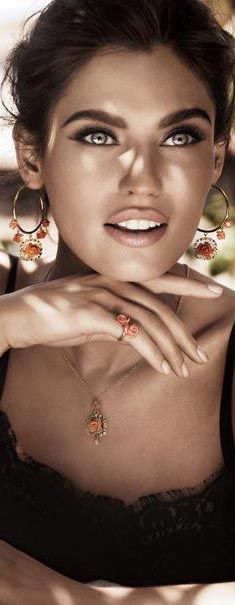Bianca Balti - Dolce and Gabbana Jewellery 2011