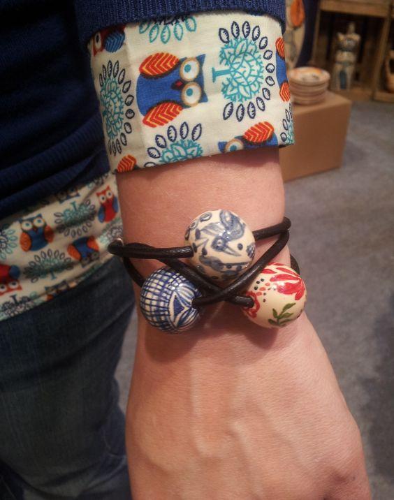 pulseras pintadas a mano!
