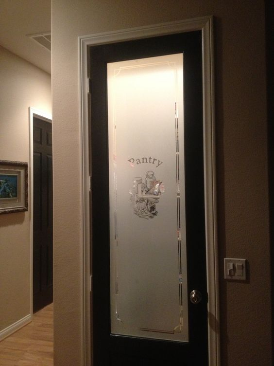 Black Doors Pantry Doors And Pantry On Pinterest