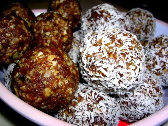 Apricot Nut Seed Balls
