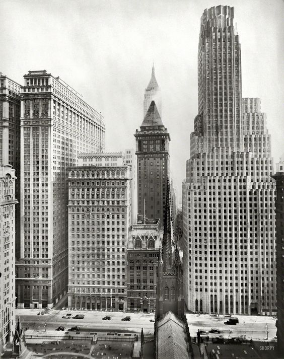 Irving Trust Building 1 Wall Street New York Circa 1931