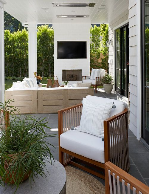 Brentwood Project Pure Salt Interiors Pure Salt Interiors Covered Patio Design Outdoor Living Space