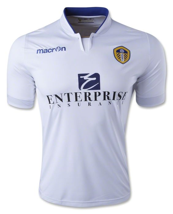 The official 14/15 Leeds United Home Jersey from Macron.