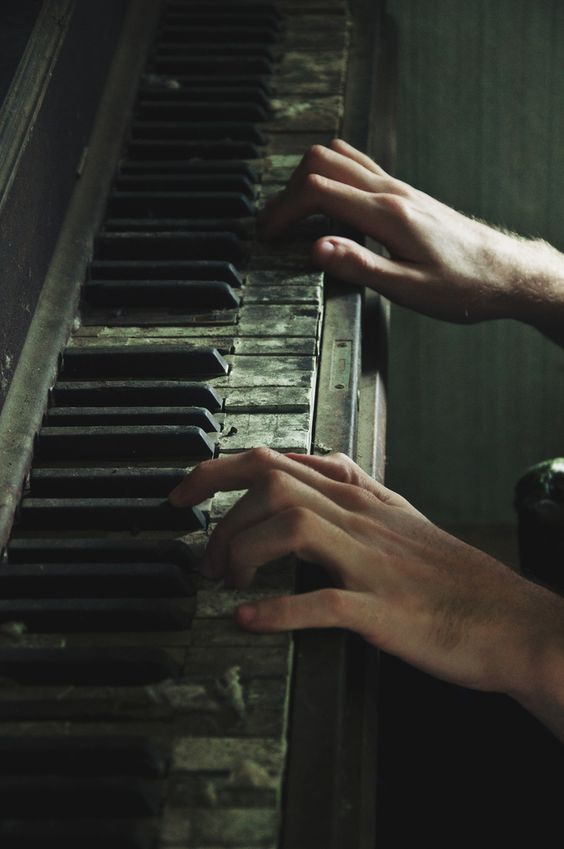 The thick layer of dust appeared to dance in the fading light as the piano came to life with each stroke of his finger across its once unloved keys...