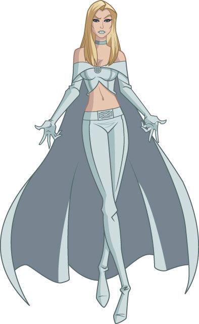 Wolverine and the X-Men Characters | emma frost from wolverine the x men vs miss martian from young justice