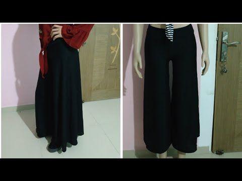البنطلون الواسع بنطلون جيبه باسهل الطرق وبدون تعقيد ادخلوا الوصف لو سمحتو Youtube Pantsuit Fashion Pants