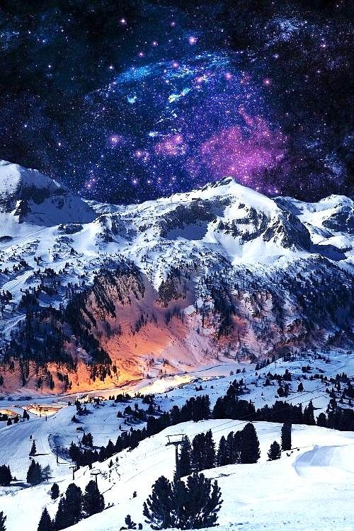 Beautiful Pictures Of Snowy Mountains