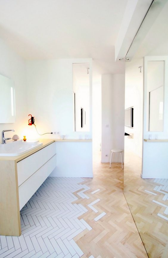 While it's easy to get caught up in the aesthetics, there are a few practicalities to consider before calling a contractor andtearing out your bathroom floor. Pause and work through the...: