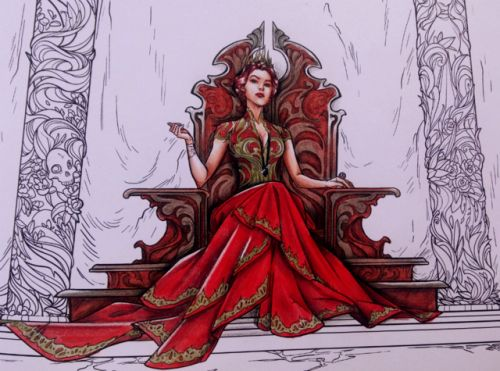24 A Court Of Thorns And Roses Coloring Book 2020 Coloring