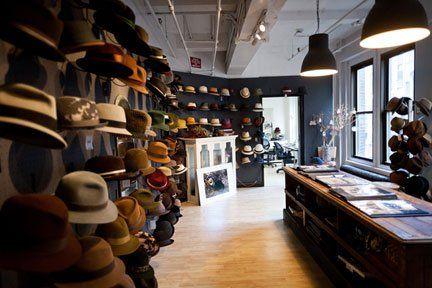 men's hat shop