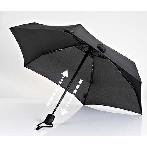 Dainty Automatic Umbrella, Black