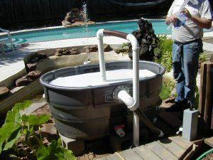 Pond filters building a pond and a pond on pinterest for Pond filter ideas