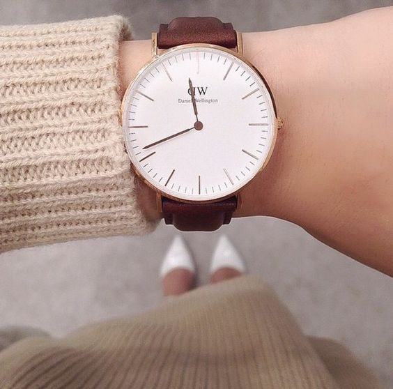 Neutral elegance. Available at www.danielwellington.com. #danielwellington #fashioninspo #prepster