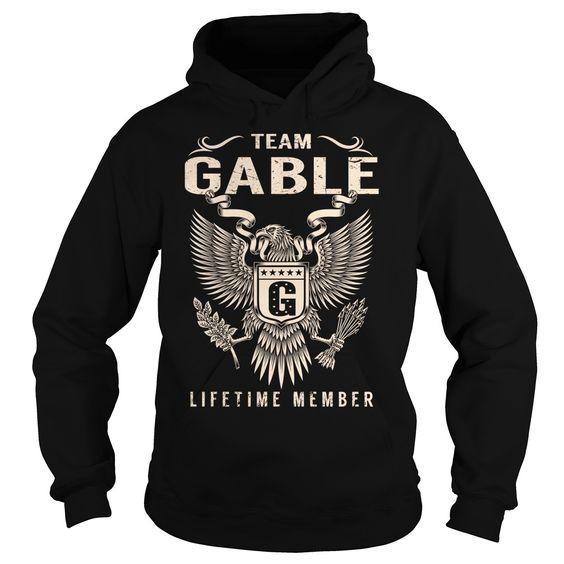 (Deal Tshirt 1hour) Team GABLE Lifetime Member Last Name Surname T-Shirt [Tshirt design] Hoodies, Tee Shirts