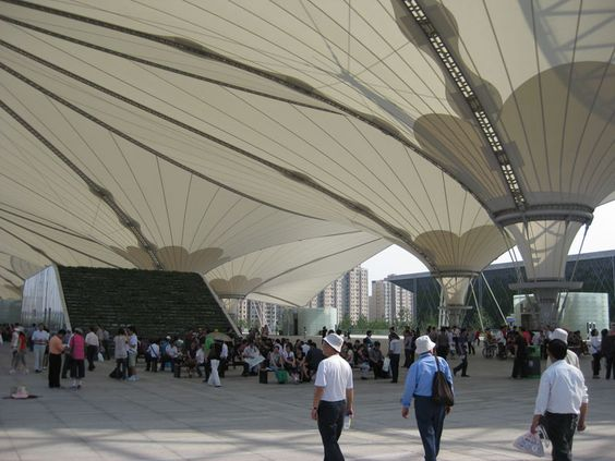 shanghai expo buildings | Shanghai World Expo: Permanent Pavilions | Digressive Prospects