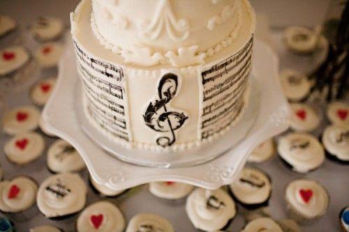 Music Themed Wedding Ideas