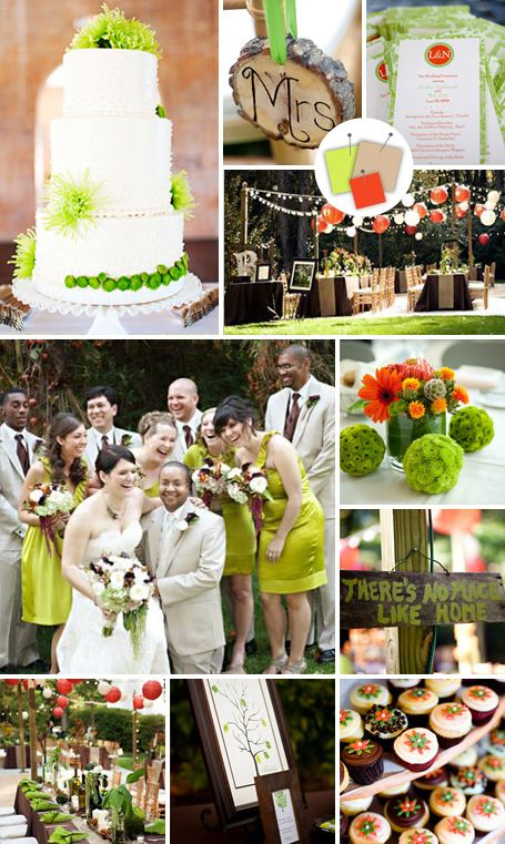 Hot New Wedding Color Palettes, possible colors...