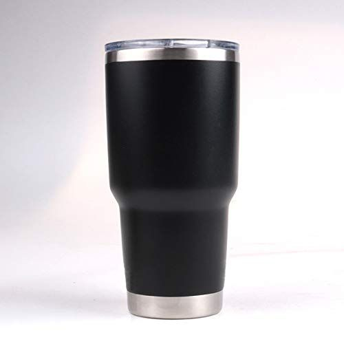 12oz Silver Powder Insulated Cup Tumbler Stainless Steel Coated Travel Bottle