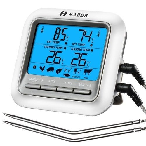 Digital LCD Thermometer Bratenthermometer Fleischthermometer Grill Thermometer
