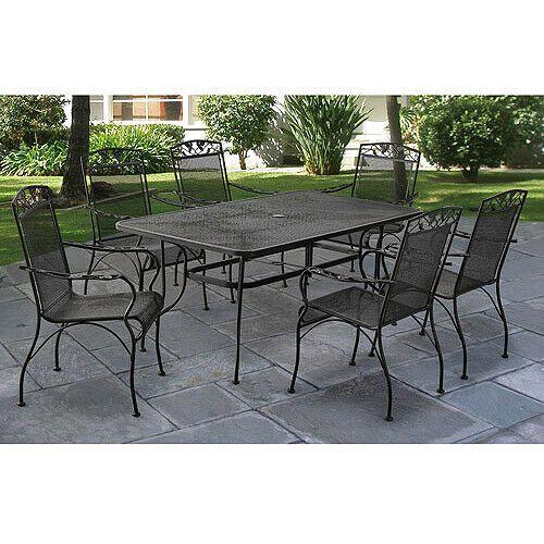 iron patio furniture
