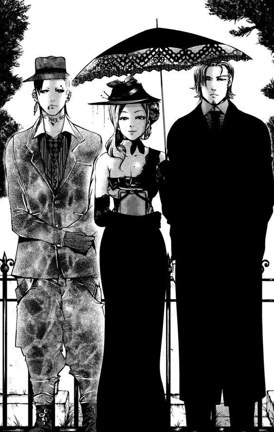 Uta, Itori and Yomo | Tokyo Ghoul | ♤ Anime ♤