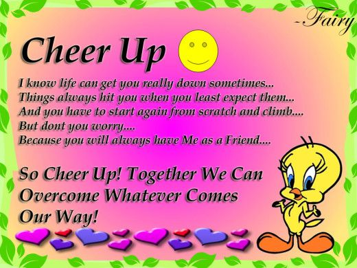 quotes for friends to cheer them up best images about ...
