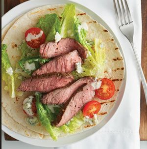 When you can't agree on having steaks or salads, have both! Caesar Steak Wraps are sure to please everyone. Set up an assembly line and let everyone built their own wrap.