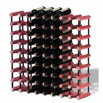 "Affordable and Modular Bordex Wine Rack 72 Bottle Rack Kit by WineUltra.com. $284.95. Dimensions: 31.5"" x 31.5"" x 9.3"".. Bordex wine storage systems are strong, affordable and modular.. FREE SHIPPING. Designed from assorted natural hardwood timbers and baked enamel steel.. You can start small then add more wine racks as your collection grows.. Bordex wine storage systems are strong, affordable and modular. You can start small then add more wine racks as your collection gr..."