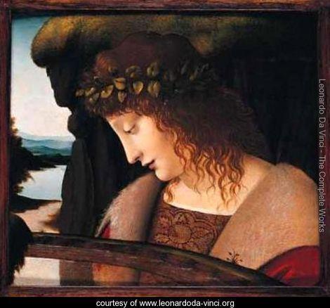 Narcissus - Leonardo Da Vinci - www.leonardoda-vinci.org: